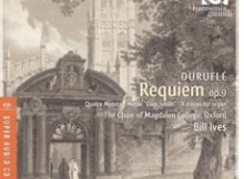 Requiem de Duruflé (Harmonia Mundi)