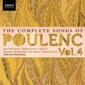 """""""Canciones completas de Poulenc"""" (Vol.4)"""