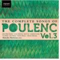 Canciones completas de Poulenc (vol. 3)