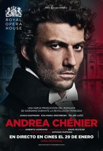 Andrea Chénier en cines